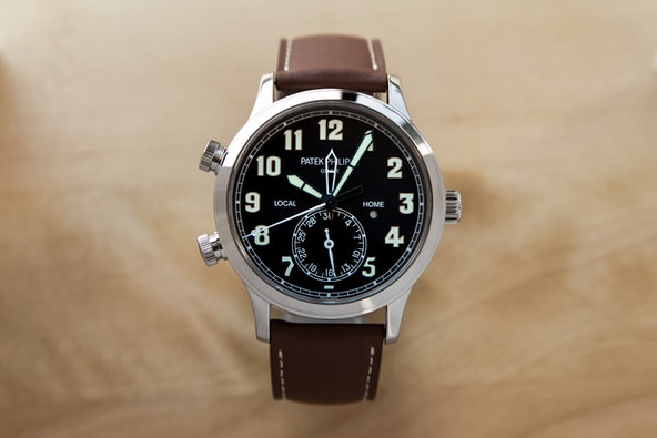 Patek Philippe Complications Calatrava Pilot Travel Time 5524G-001