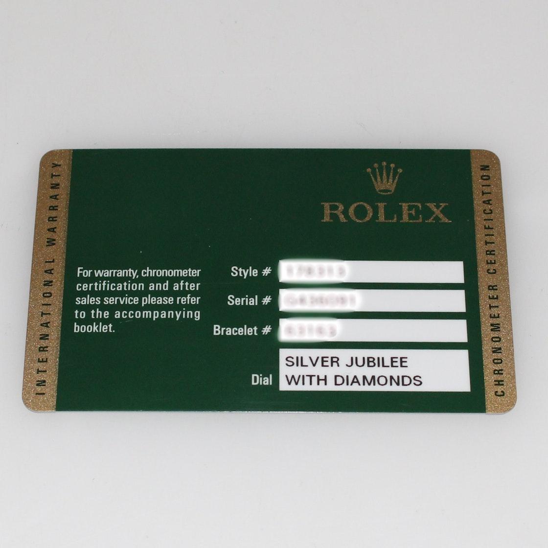 Rolex Datejust 178313