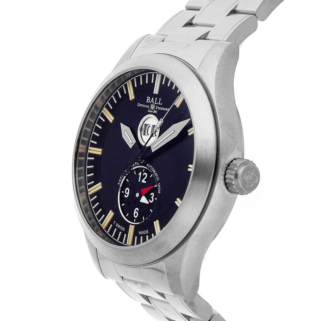 Ball Watch Company Aviator Dual Time GM2086C-S1-BK