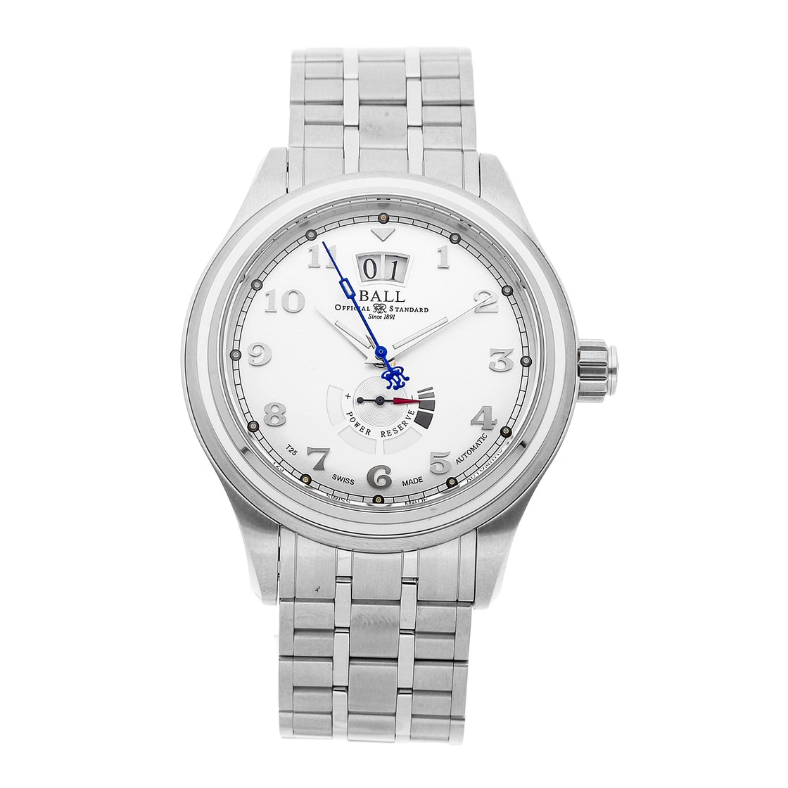 Ball Watch Company Trainmaster Cleveland Power Reserve PM1058D-SJ-SL