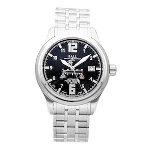 Ball Watch Company Trainmaster Power Glow NM1056D-SAJ-BK