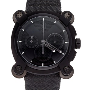 Romain Jerome Moon Dust-DNA Moon Invader Black Metal Chronograph Limited Edition RJ.M.CH.IN.001.01