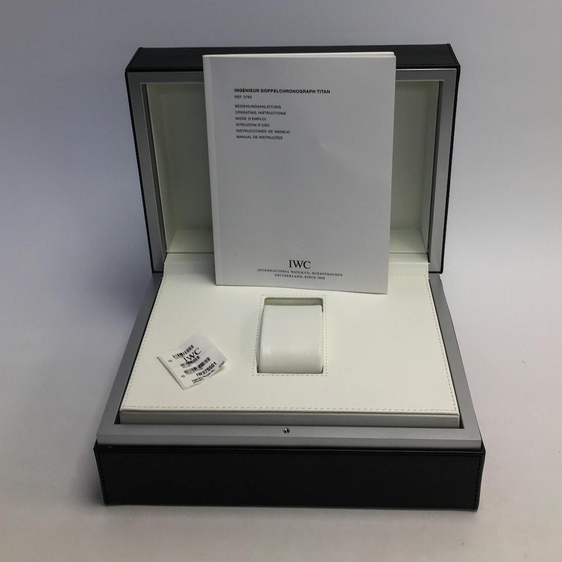 IWC Ingenieur Double Chronograph IW3765-01