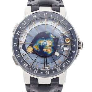 Ulysse Nardin Executive Moonstruck Worldtimer Limited Edition 1069-113