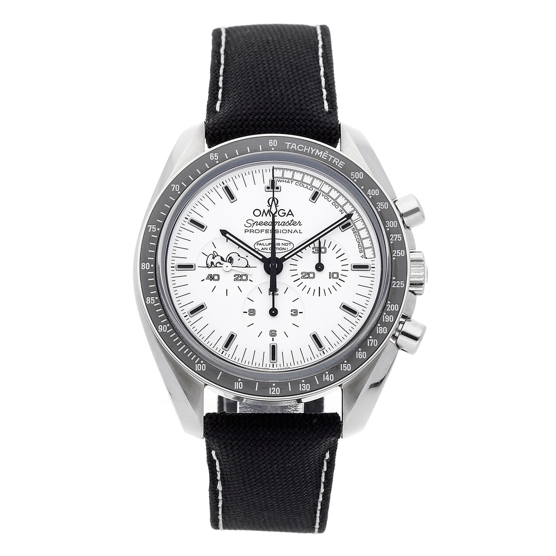 "Omega Speedmaster Professional Moonwatch ""Snoopy"" Apollo XIII 45th Anniversary Limited Edition 311.32.42.30.04.003"