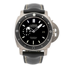 Panerai Luminor 1950 Submersible Amagnetic 3-Days Titanio PAM 389