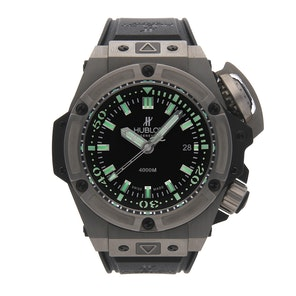 "Hublot Big Bang King ""Oceanographique"" 4000 Limited Edition 731.NX.1190.RX"