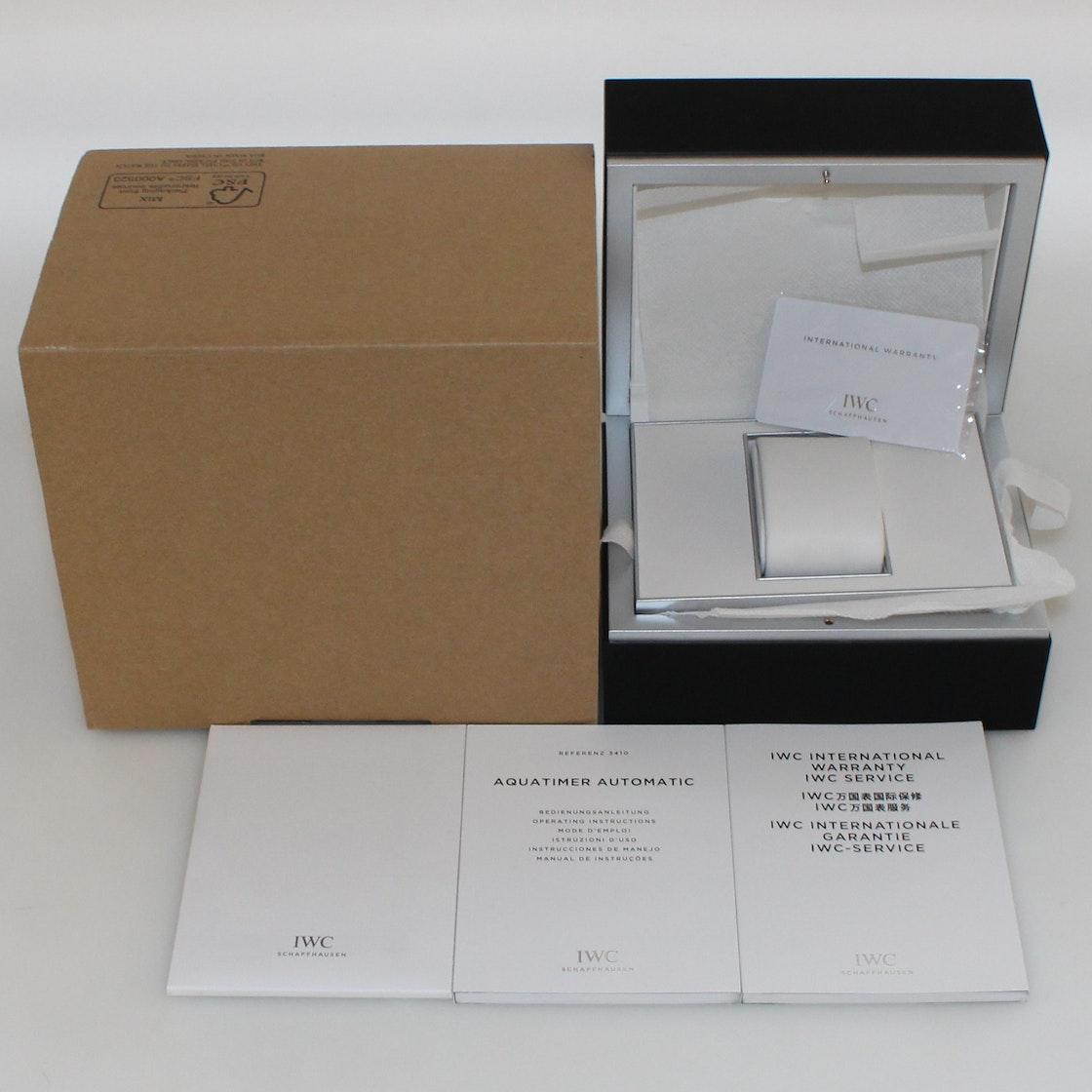 IWC Aquatimer CF4 Limited Edition IW3410-01