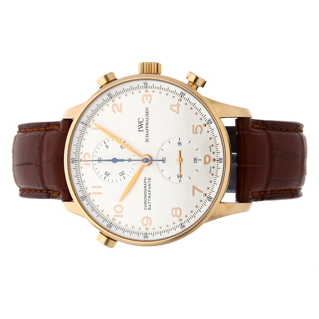 IWC Portuguese Rattrapante Chronograph IW3712-03