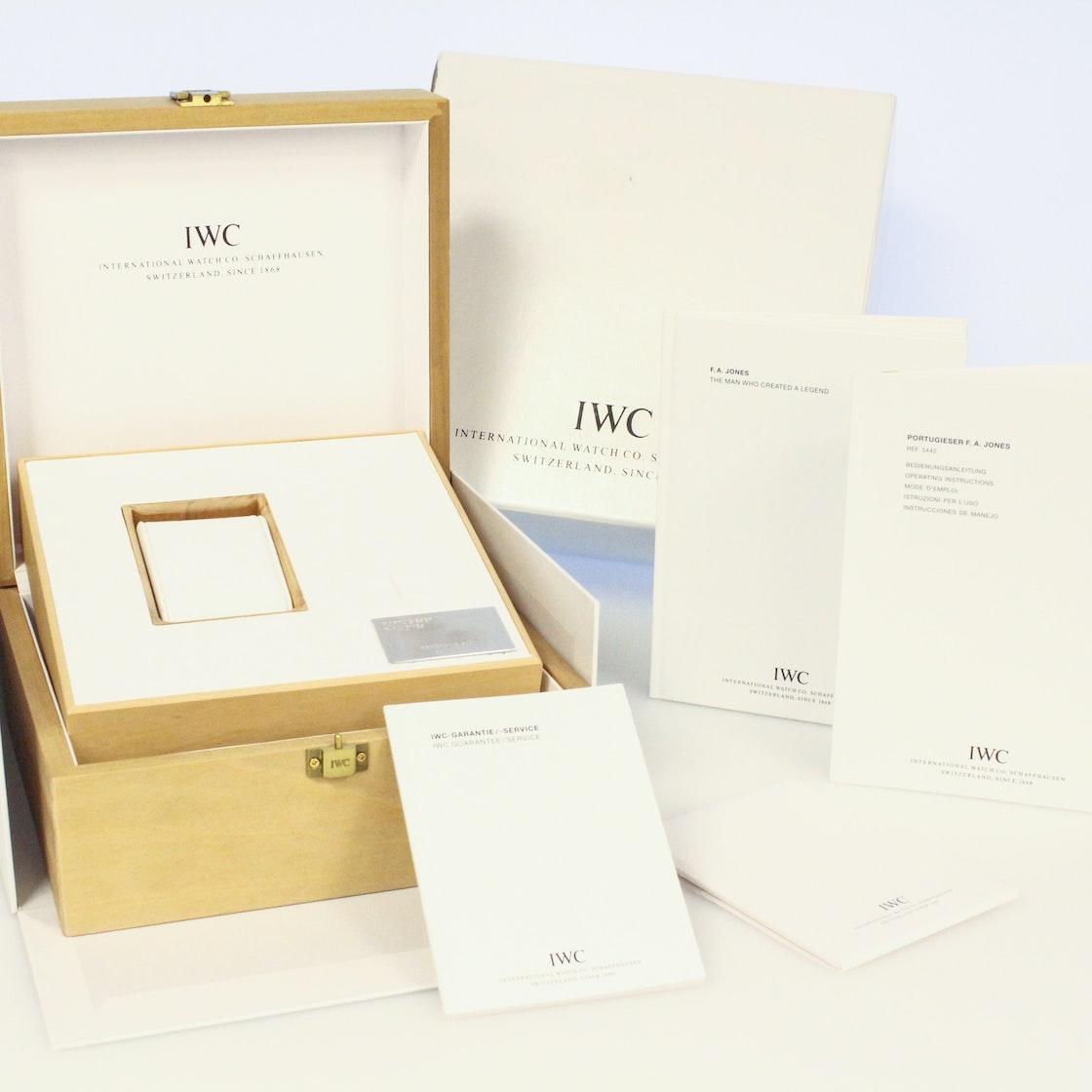IWC Portuguese F.A. Jones Limited Edition IW5442-01