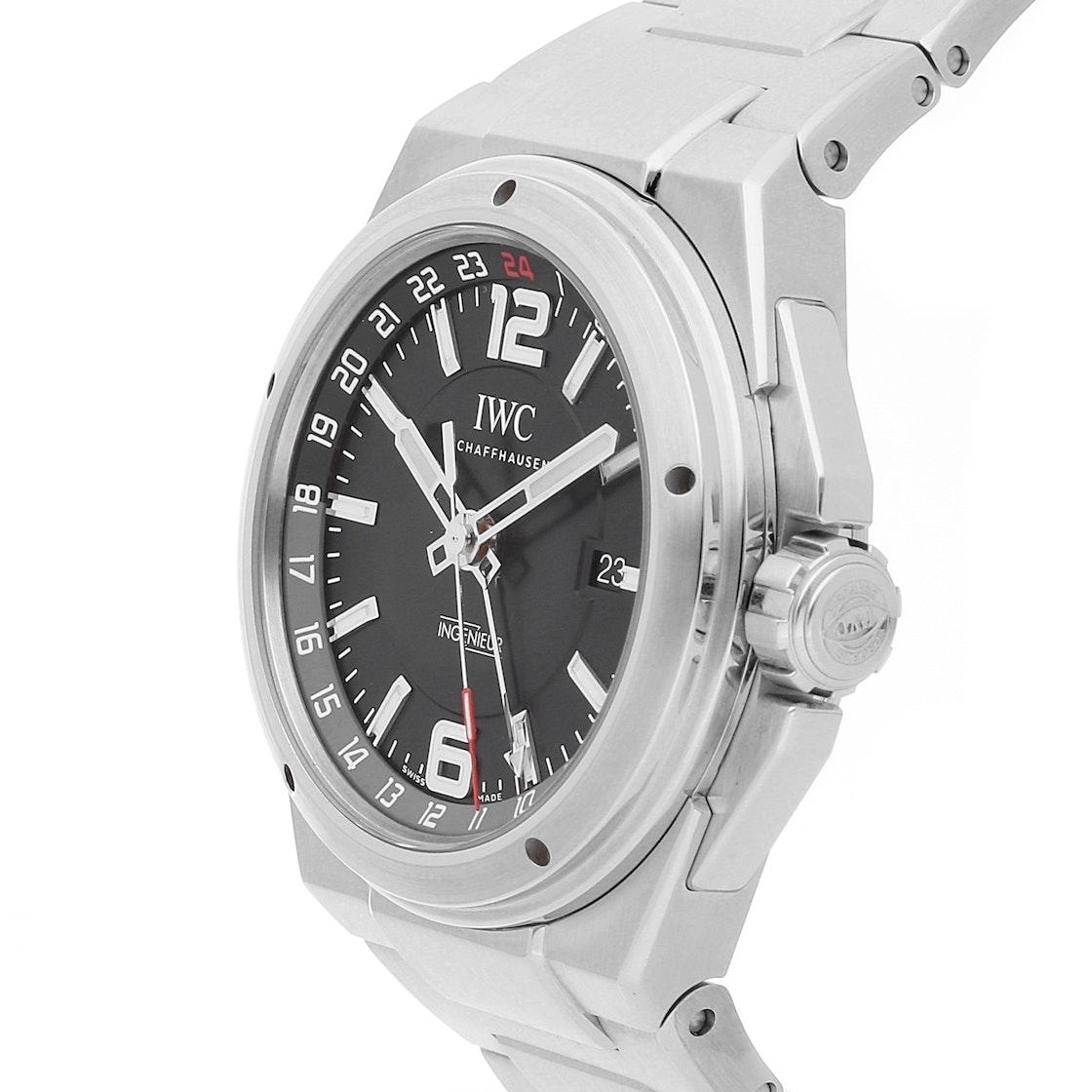 IWC Ingenieur Dual Time IW3244-02