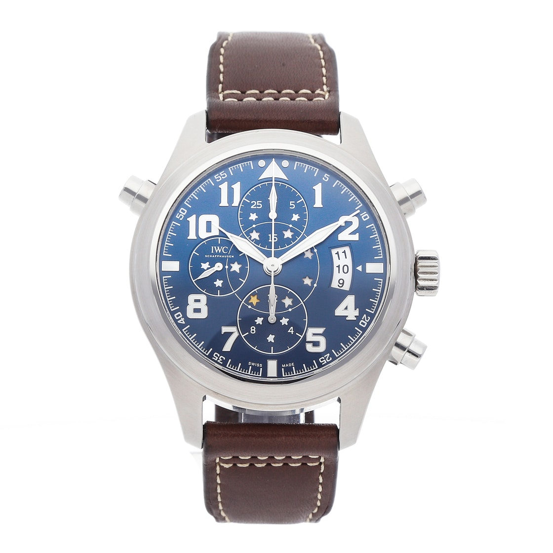 "IWC Pilot ""Le Petite Prince"" Double Chronograph Limited Edition IW3718-07"