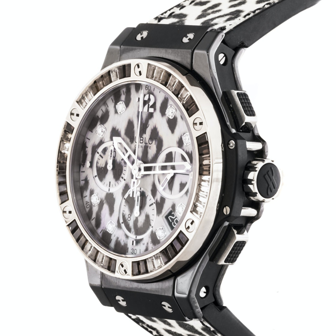 Hublot Big Bang Snow Leopard Chronograph Limited Edition 341.CW.7717.NR.1977