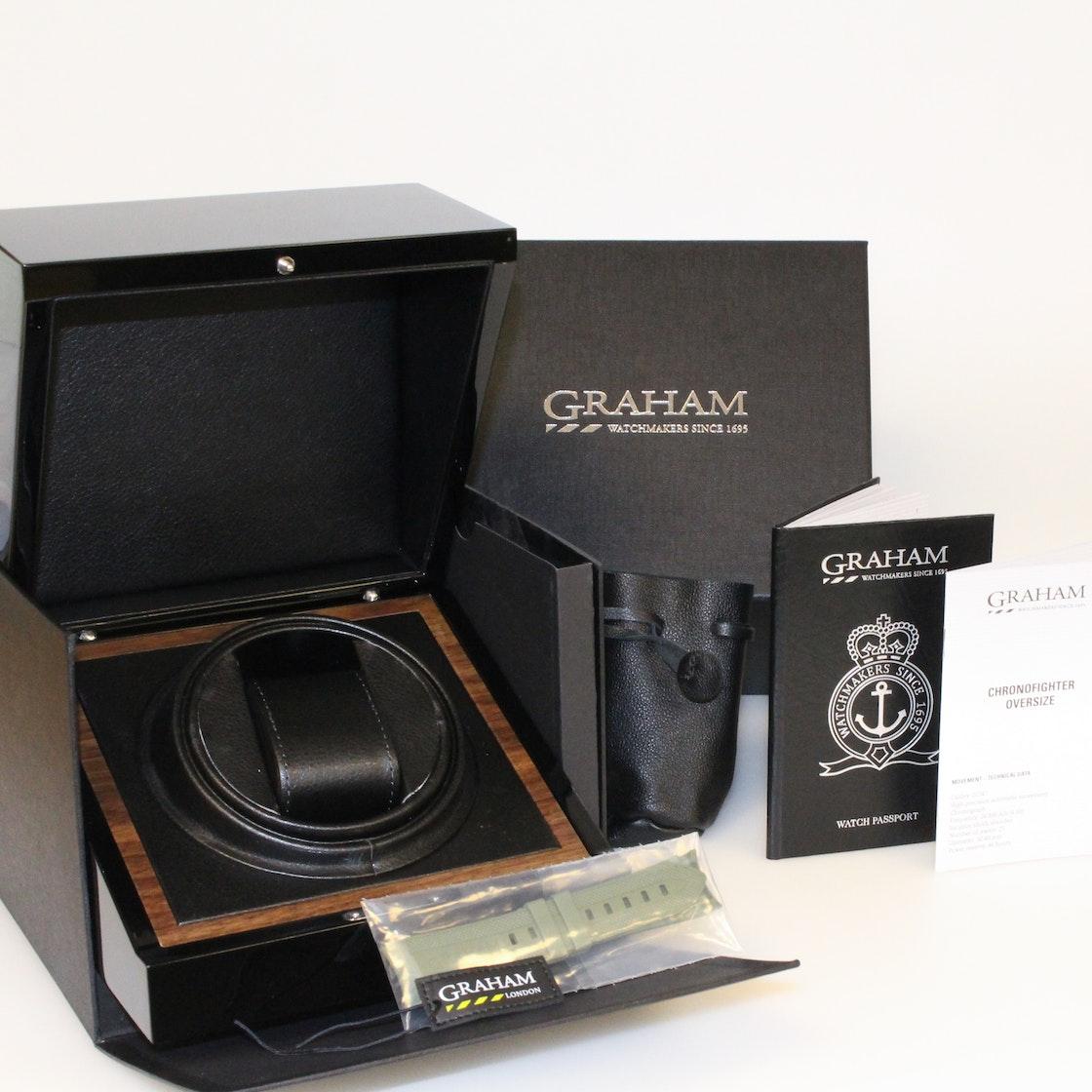 Graham Chronofighter Oversize Chronograph 2CCAU.G01A.T15
