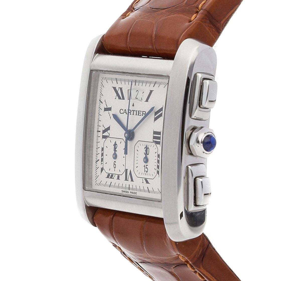 Cartier Tank Francaise XXL Chronoreflex W5101455