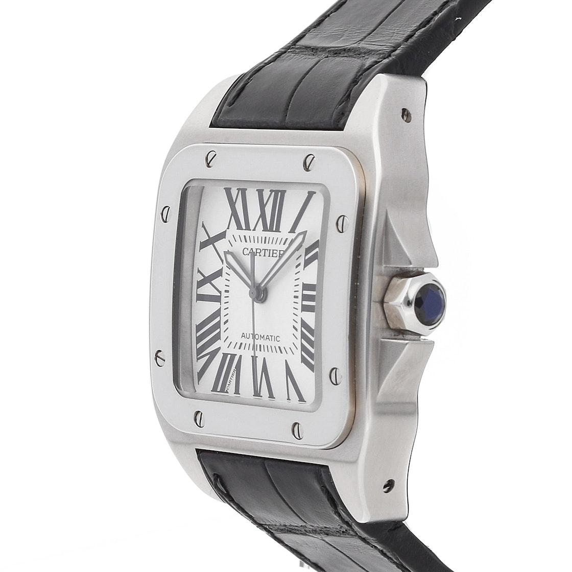 Cartier Santos 100 Large W20073X8