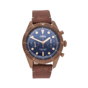 "Oris ""Carl Brashear"" Chronograph Limited Edition 01 771 7744 3185LS"