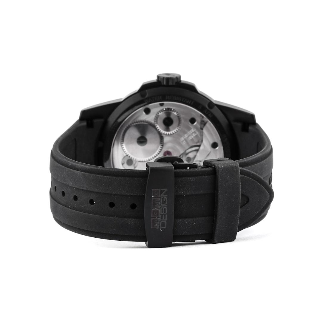 Momo Design Black Titanium Hand-Wound MD275-BK-RB-04BK