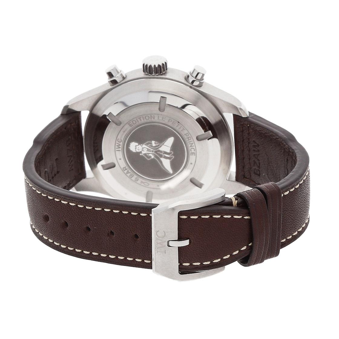 "IWC Pilot's Watch Chronograph ""Le Petit Prince"" IW3777-14"