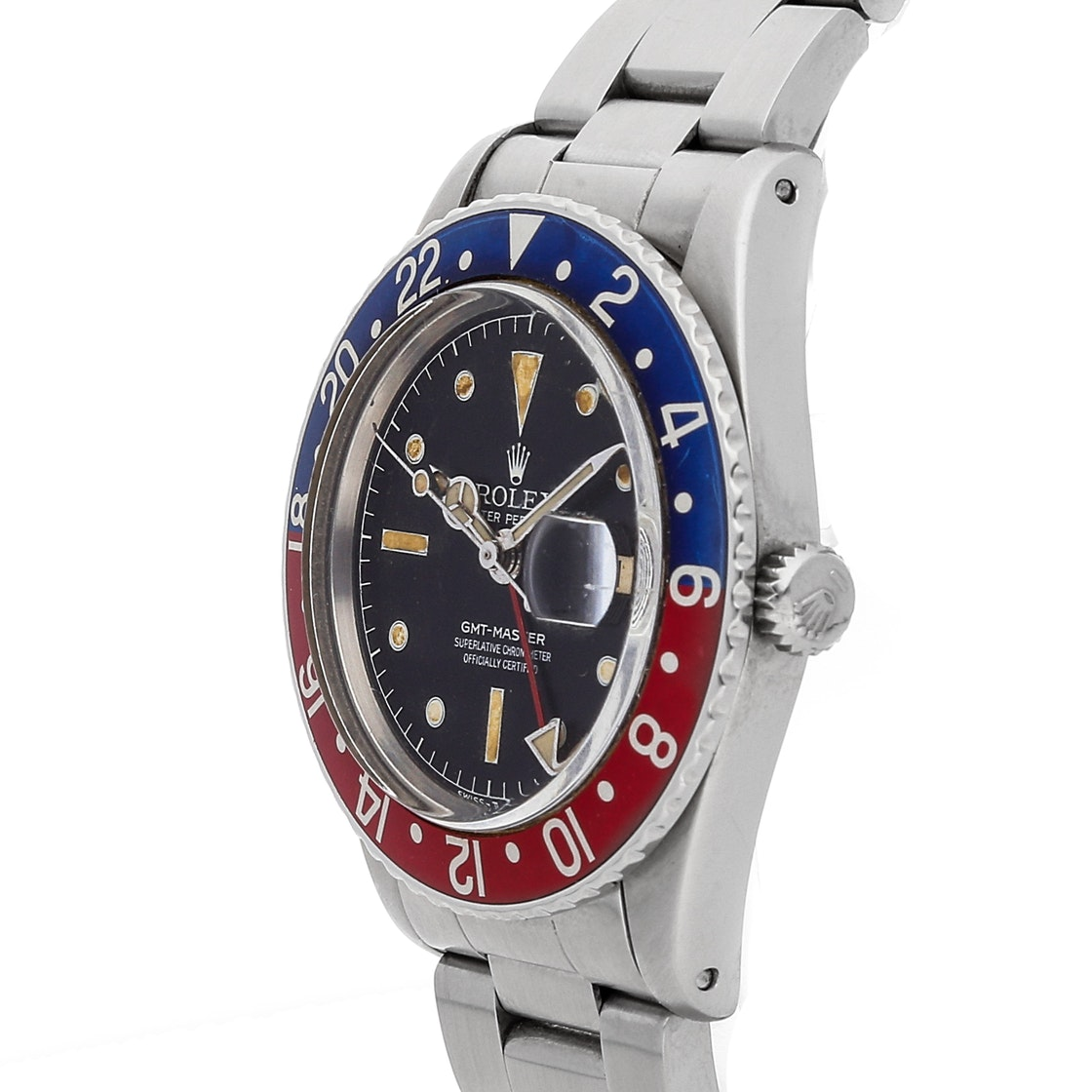 "Rolex Vintage GMT-Master ""Pepsi"" 6542"
