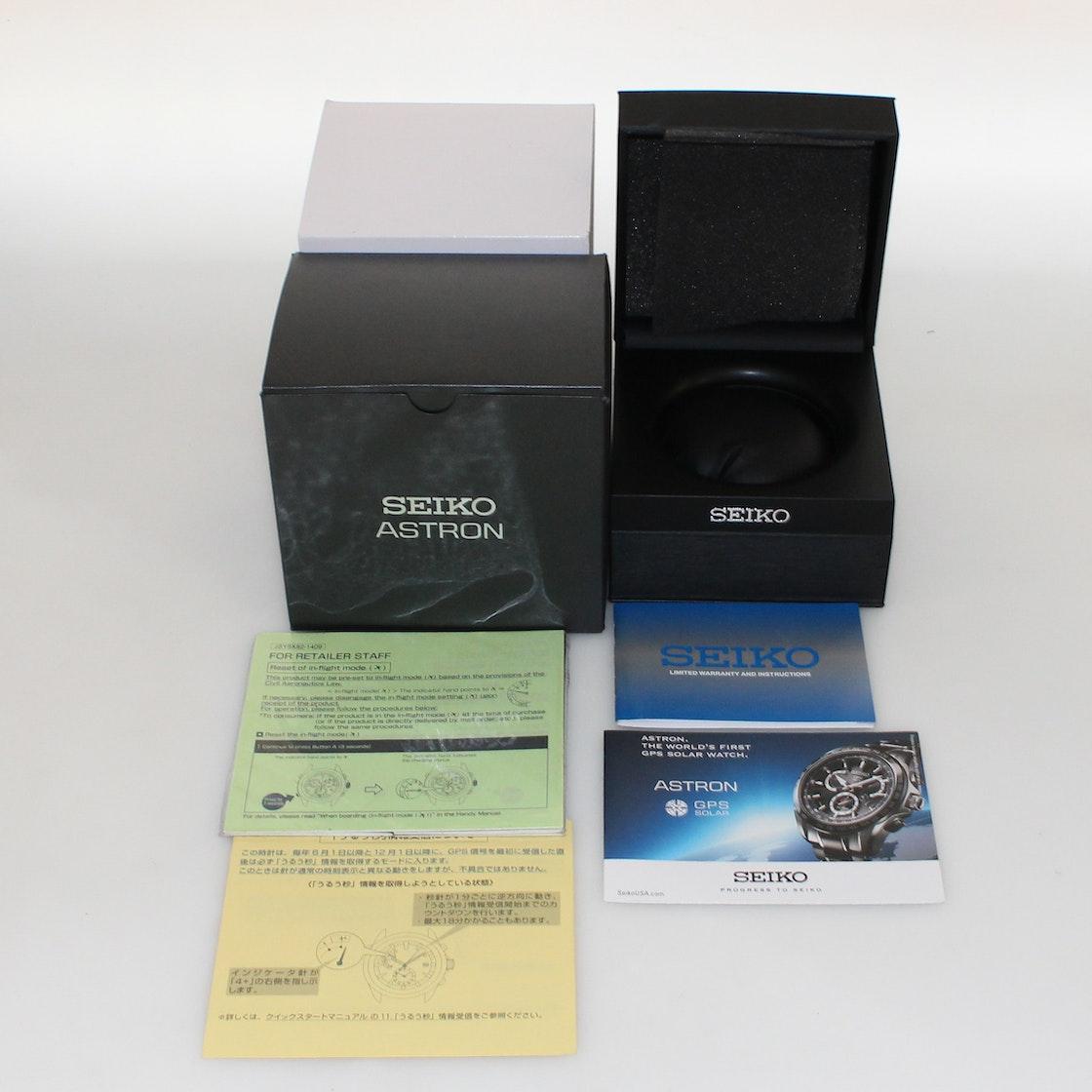 Seiko Astron GPS Solar Chronograph SSE033