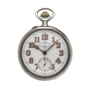 Vacheron Contantin Vintage Military Chronograph WWI Army Corps of Engineers VC POCKET WATCH