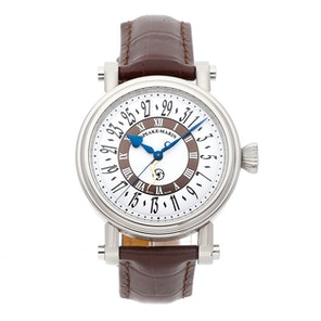 "Speake Marin Serpent Calendar Blue ""Piccadilly Case"" 10006-05"