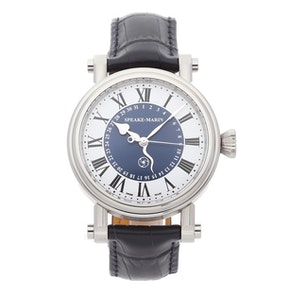 "Speake Marin Serpent Calendar Blue ""Piccadilly Case"" 10006-04"
