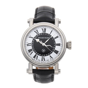 "Speake Marin Serpent Calendar Black ""Piccadilly Case"" 10006-03"