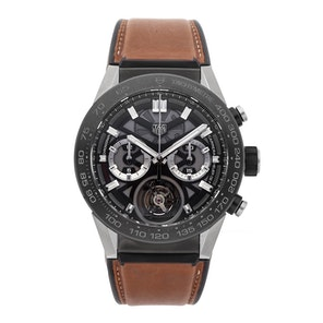 Tag Heuer Carrera Tourbillon Chronograph CAR5A8Y.FT6072