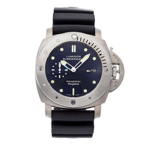 Panerai Luminor Submersible 1950 Regatta 3-Days GMT Titanio Limited Edition PAM 371