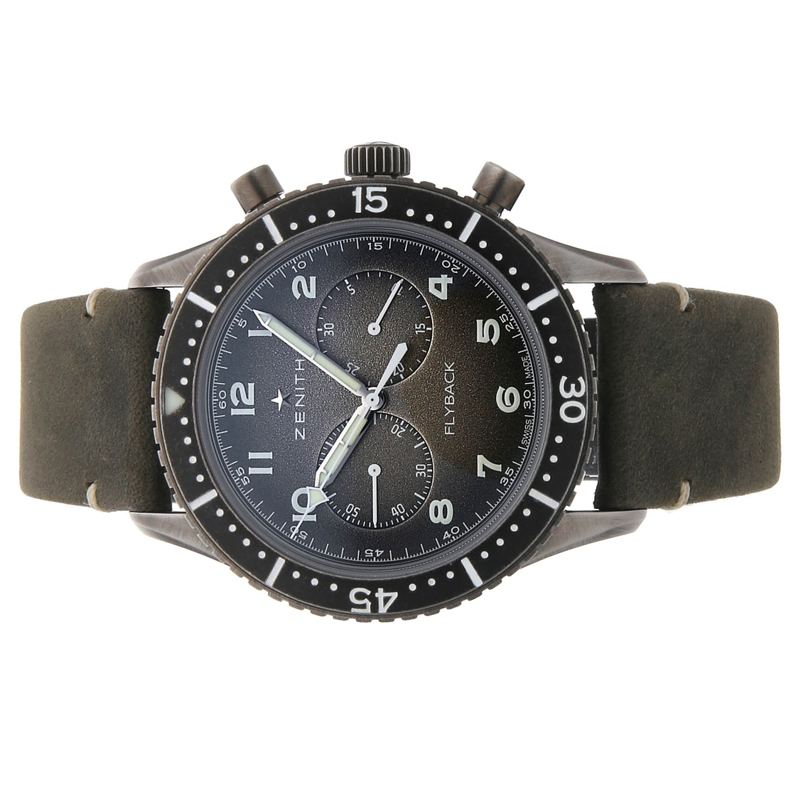 Zenith Pilot Cronometro Tipo CP-2 Flyback Aged 11.2240.405/21.C773