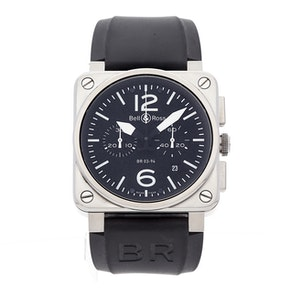 Bell & Ross BR 03-94 BR0394-BL-SI/SCA