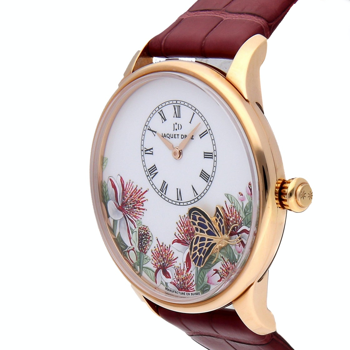 Jaquet Droz Petite Heure Butterfly Journey Limited Edition J005033289