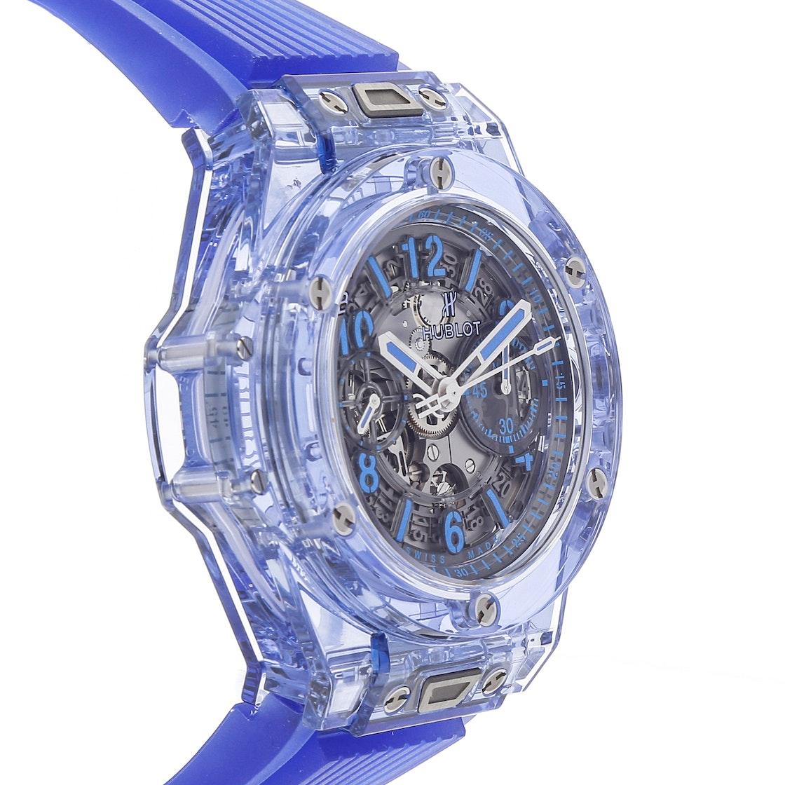 Hublot Big Bang Unico Blue Sapphire Limited Edition 411.JL.4809.RT