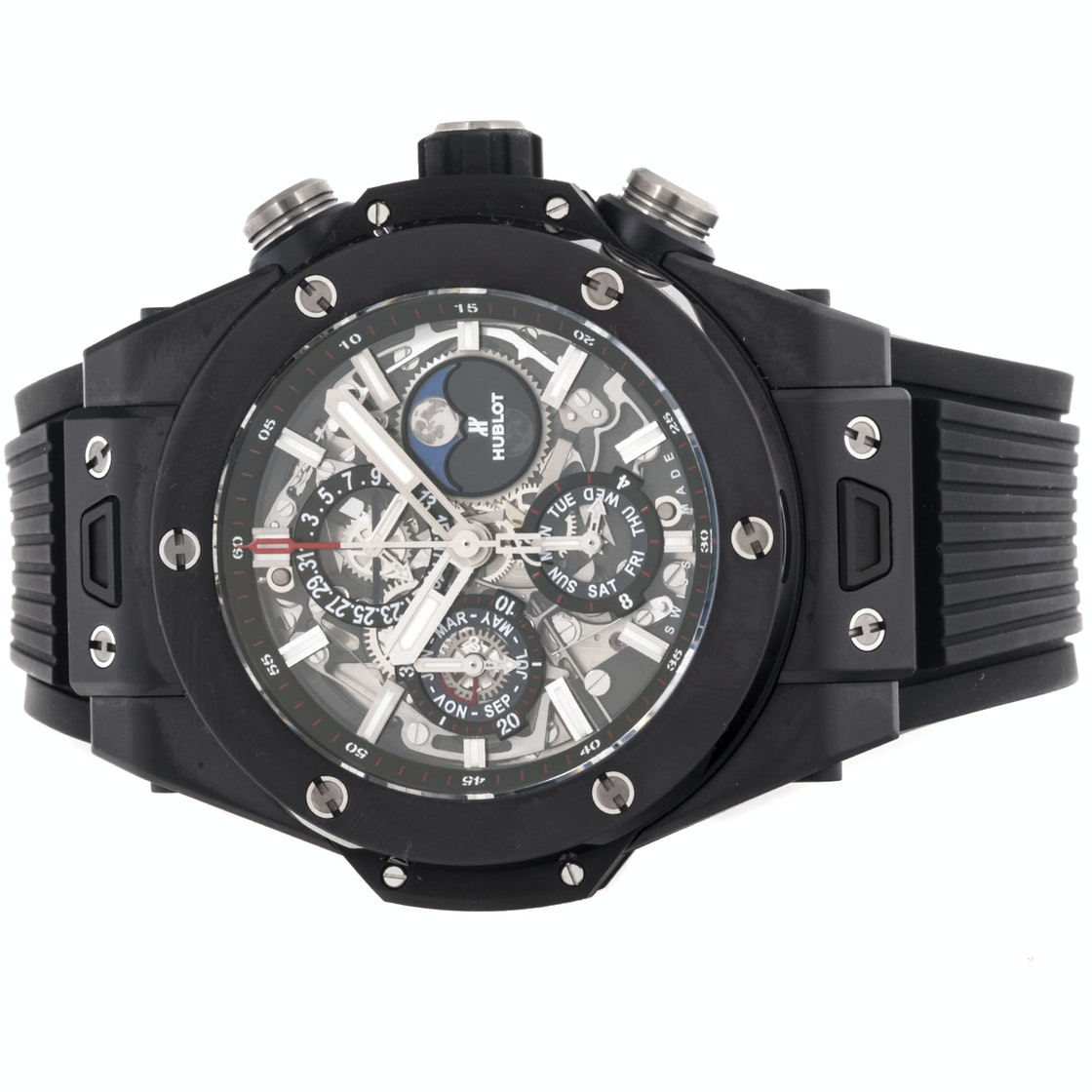 Hublot Big Bang Unico Perpetual Calendar Black Magic Chronograph 406.CI.0170.RX