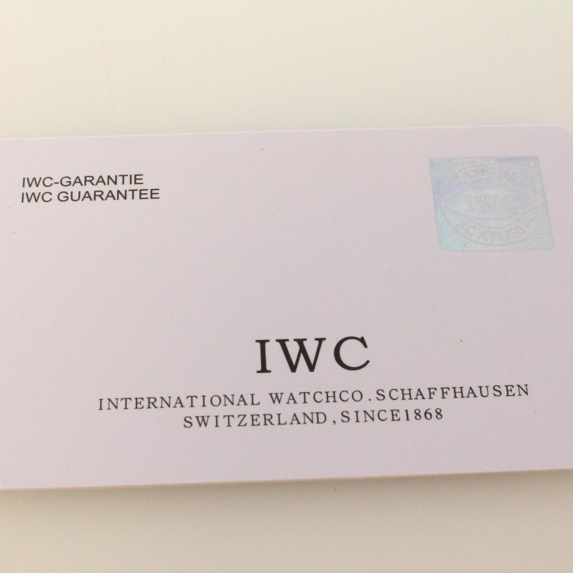 IWC Portuguese Tourbillon Mystere Limited Edition IW5042-07