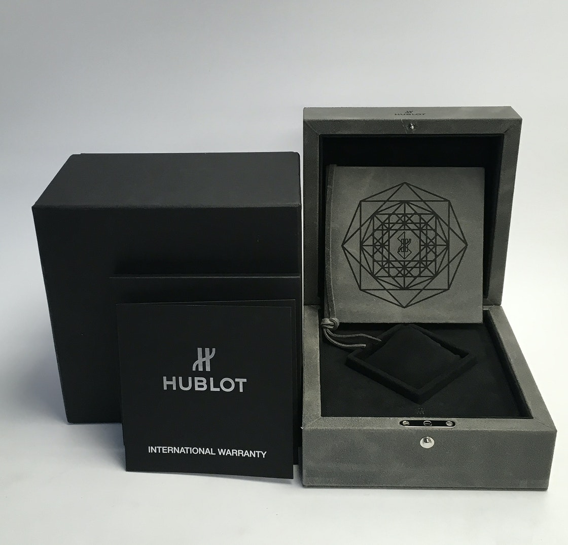 Hublot Big Bang Sang Bleu All Black Limited Edition 415.CX.1114.VR.MXM17