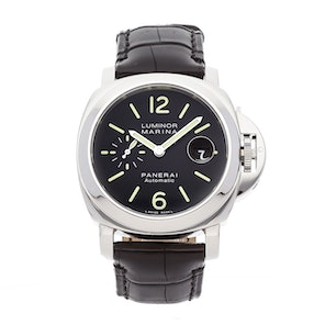 Pre-Owned Panerai Luminor Marina Acciaio PAM 104