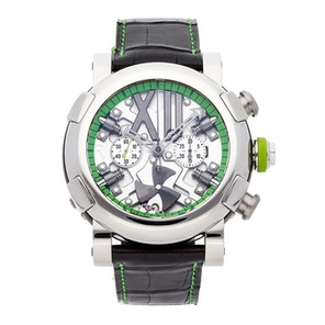 Romain Jerome Titanic-DNA Steampunk Chronograph Green Limited Edition RJ.T.CH.SP.005.07
