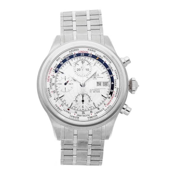 Ball Watch Company Trainmaster Worldwide GMT Chronograph CM2052D-SJ-SL