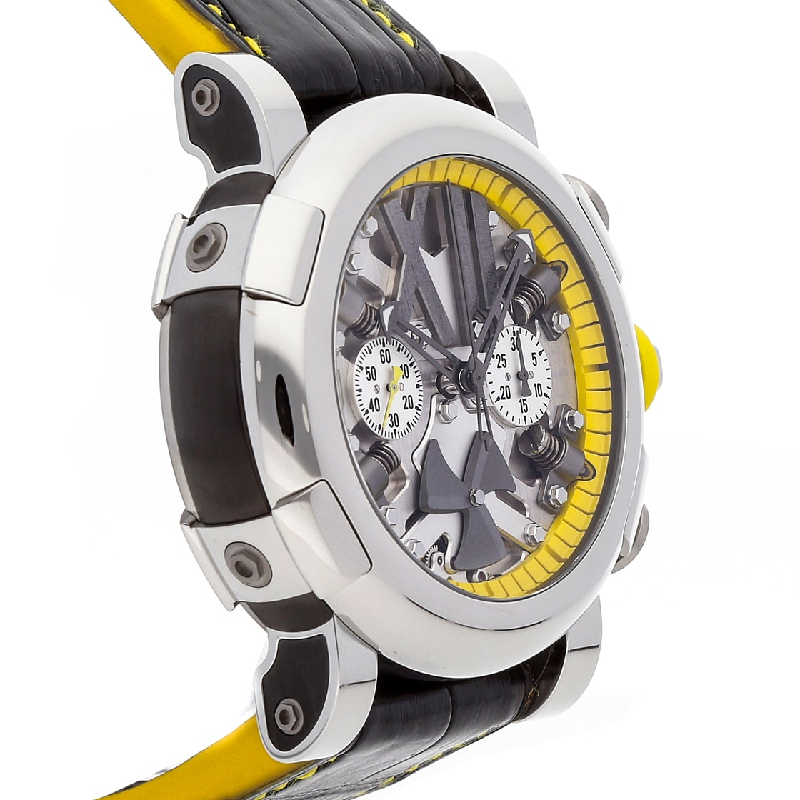 Romain Jerome Titanic-DNA Steampunk Chronograph Yellow Limited Edition RJ.T.CH.SP.005.06