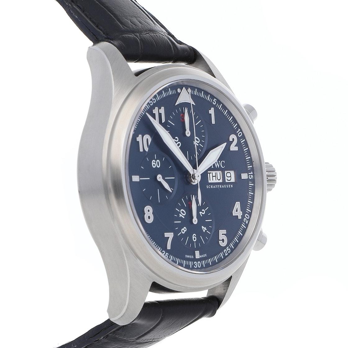 IWC Pilot's Watch Spitfire Chronograph Laureus Limited Editon IW3717-12