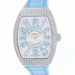 Franck Muller Vanguard Lady 32 V SC AT AC FO D BL