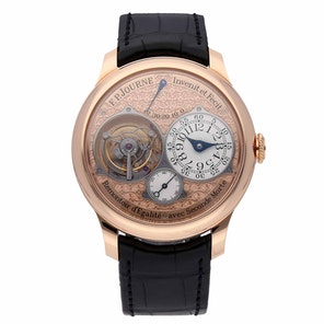 F.P. Journe Dead Seconds Tourbillon Souverain Remontoir d'Egalité avec Seconde Morte Limited Edition