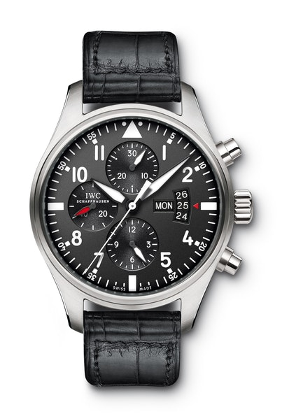 IWC Pilot's Watch Chronograph IW 3777 Mens Watch