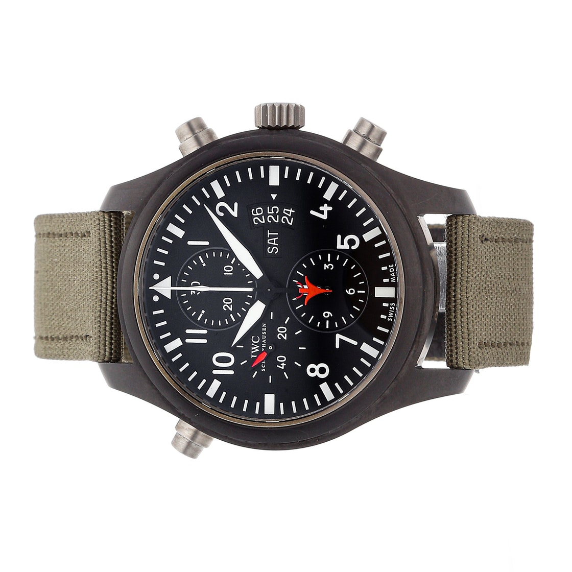 IWC Pilot's Double Chronograph Top Gun IW3799-01