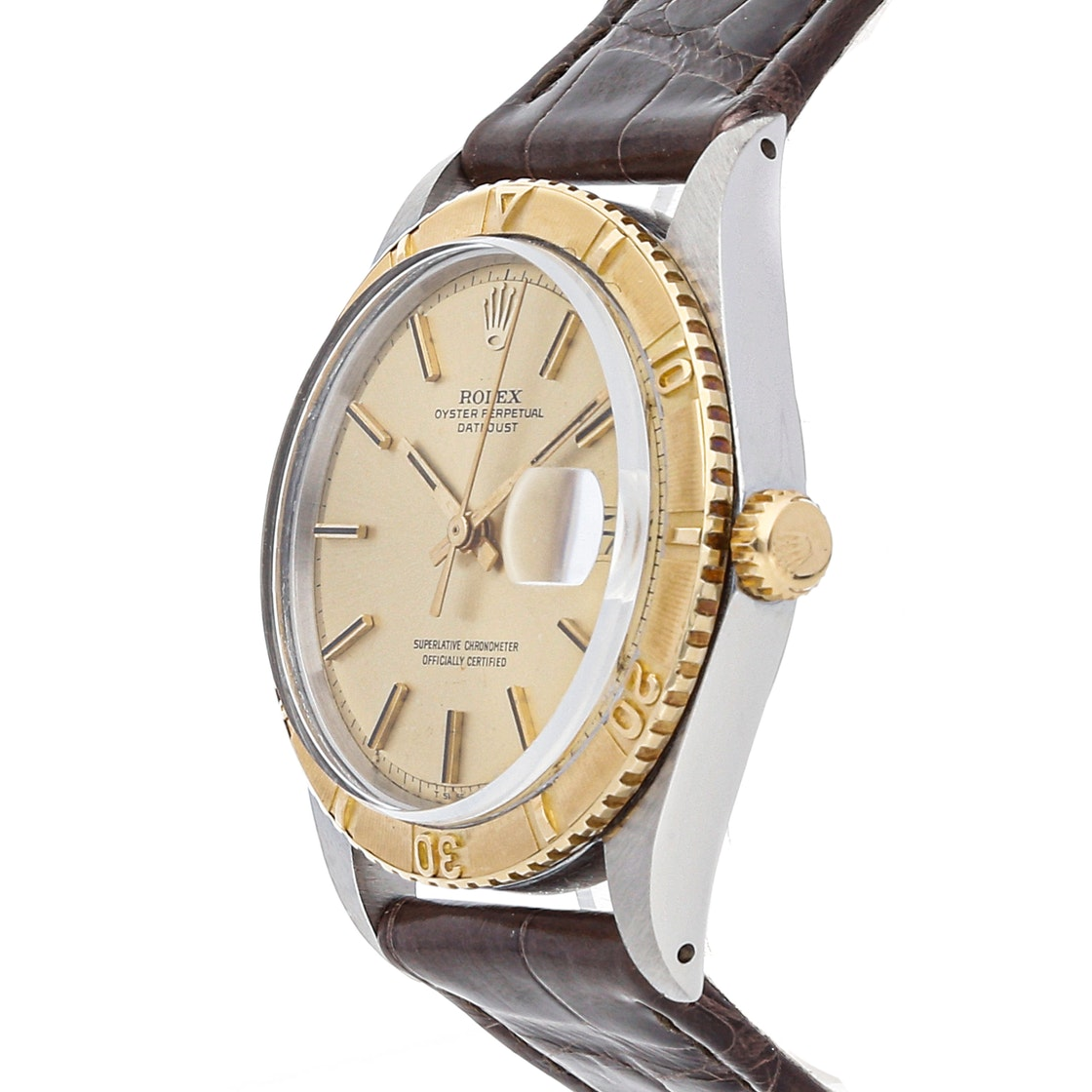 Rolex Vintage Datejust Thunderbird Turn-O-Graph 1625