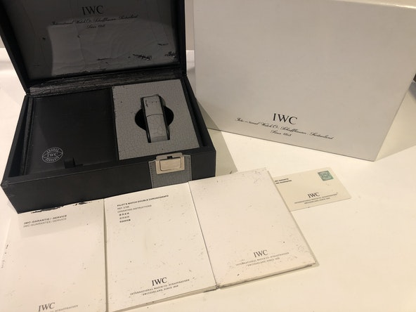 IWC Doppelchronograph Pilot's Double Chronograph Limited Edition IW3786-01