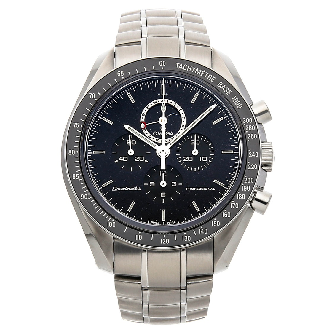 Omega Speedmaster Moonwatch Professional Moon Phase Chronograph 311.30.44.32.01.001